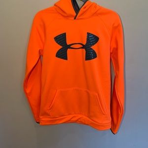 Under Armor Youth Long Sleeve Hoodie-Size XL